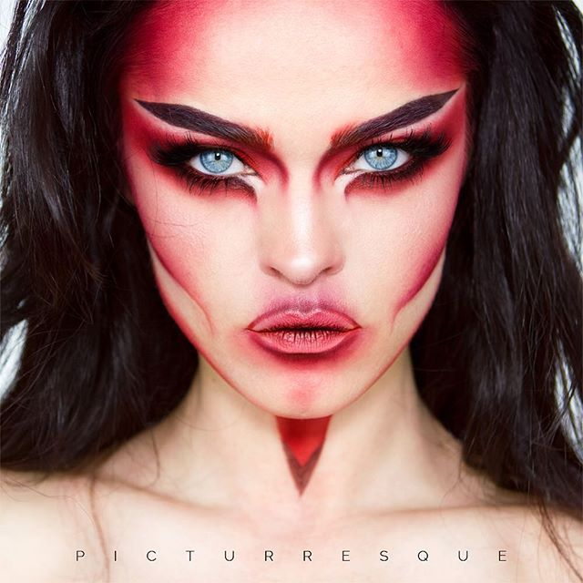 W R A T H  Kryolan - Eyeshadows: 080, SM, Youth Red  Morphe - Palette 35U Kryolan- HD Eyeliner Aubergine  Catrice - Eyeshadow Burgundy  EWL - Dollymix Lashes Cut in 1/2  Makeup Factory - Sheer Nude Mat Lip Fluid  #kryolan #makeupisascience #Morphe #morphebrushes #catrice #makeupfactory #vegasnay #anastasiabeverlyhills #makeupmobb #maquillage #макияж #визаж #eyeliner #strobeyourego  #makeuplover #makeupmafia  #wakeupmakeup #wakeupandmakeup #undiscovered_muas #makeupfanatic1