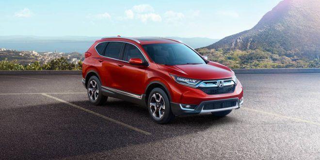 Next-generation 2017 Honda CR-V unveiled