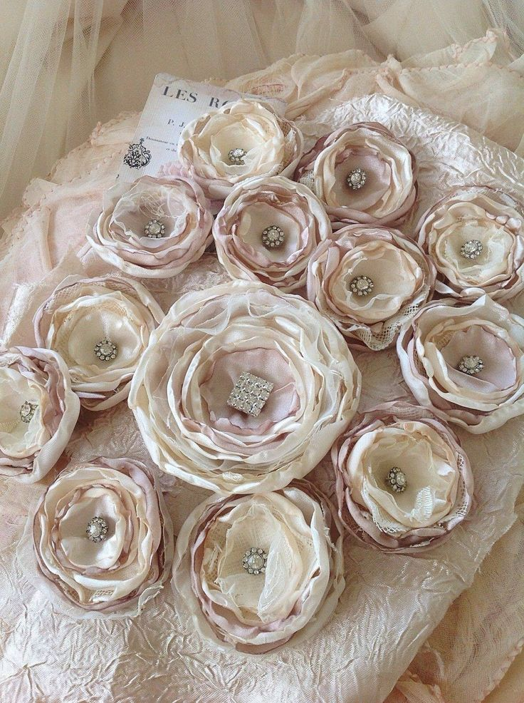 Beautiful handmade flowers