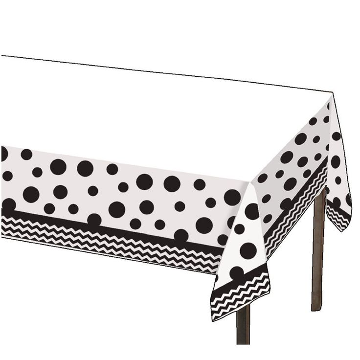 Black U0026 White Chevron Tablecloth; Baby Shower Table Cover; Birthday Party  Table Cover;