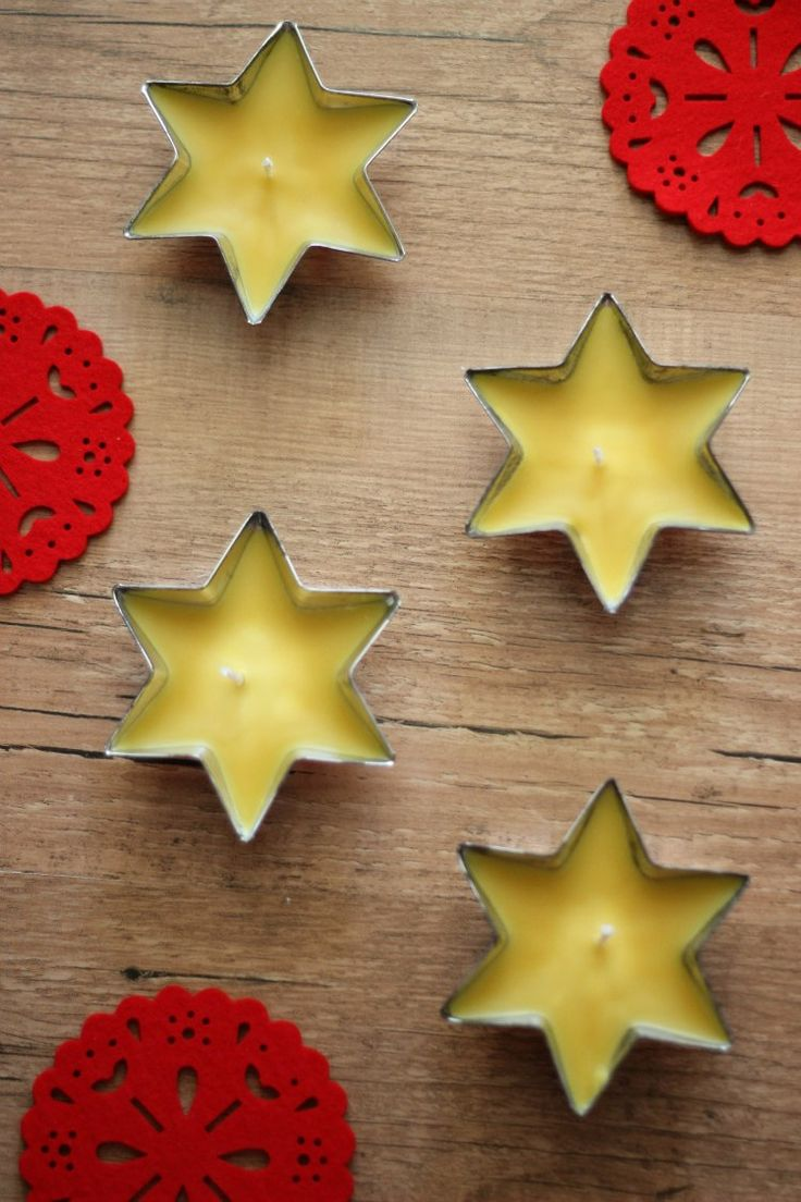 How to Make Beeswax Tealight Candles Recipe Diy