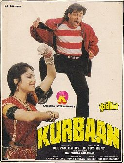 Kurbaan Hindi Movie Online - Salman Khan, Ayesha Jhulka, Sunil Dutt, Kabir Bedi, Gulshan Grover and Rohini Hattangadi. Directed by Deepak Bahry. Music by Anand-Milind. 1991 ENGLISH SUBTITLE