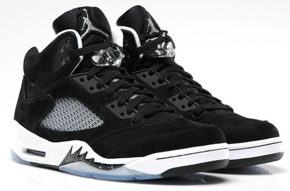 Air Jordan 5 'Oreo' Colorway