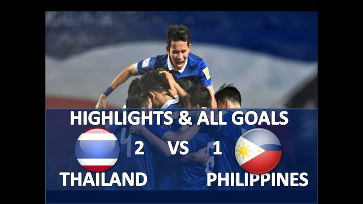 Thailand VS Philippines 1 0 ● Highlights & All Goals ● AFF CUP HD Novemb...