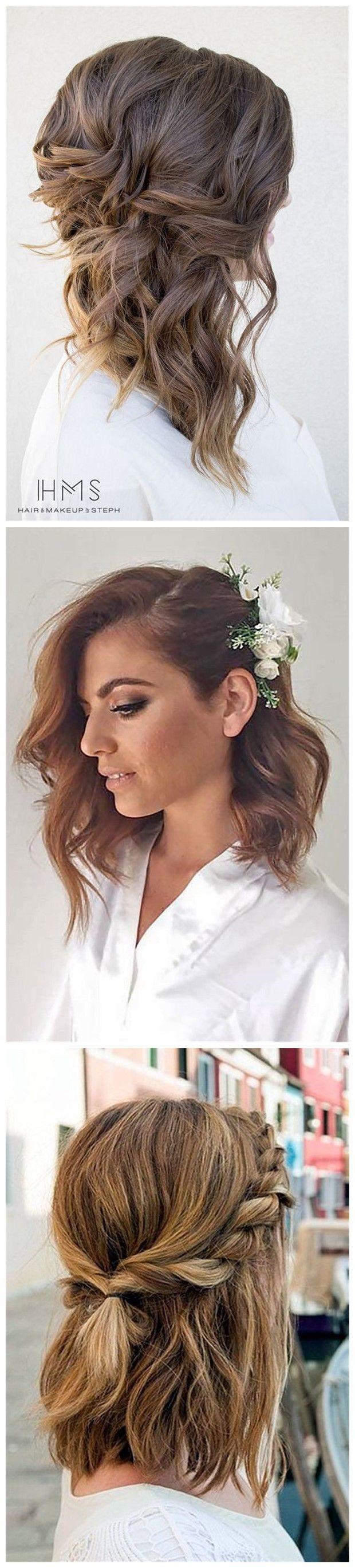 24 Lovely Medium-length Hairstyles For 2018 Weddings