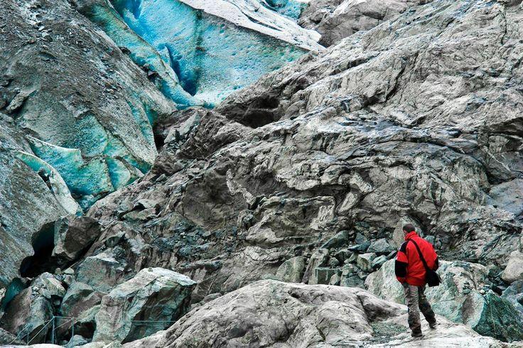 Artikelschreiben ist wir das Erklimmen eines Gletschers. BTW: I love Norway. :)