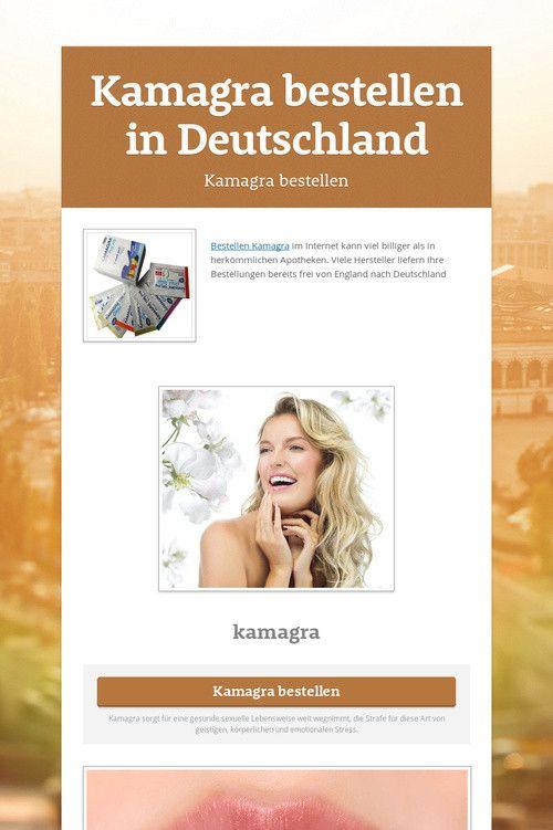 Kamagra online kaufen