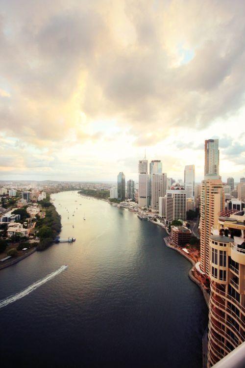 Views over Brisbane City #brisbane