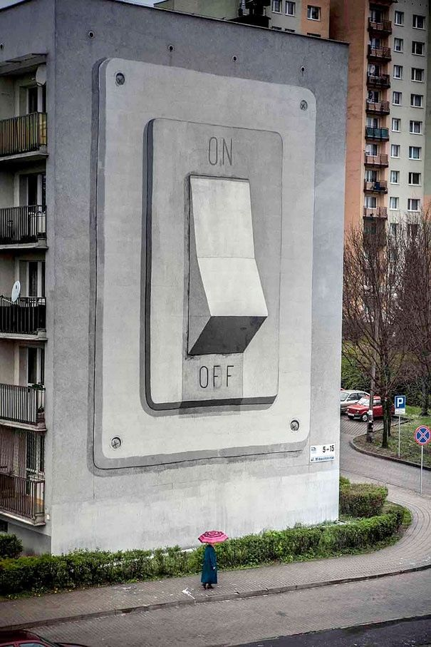 Cool Street Art & Inventive Urban Art http://coverissimo.blogspot.com : Scale and Proportion