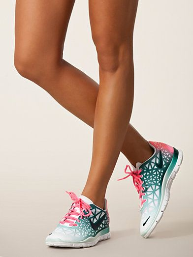Wmns Nike Free Fit 3 Dye - Nike - White/Green - Sports Shoes - Sports Fashion - Women - Nelly.com Uk