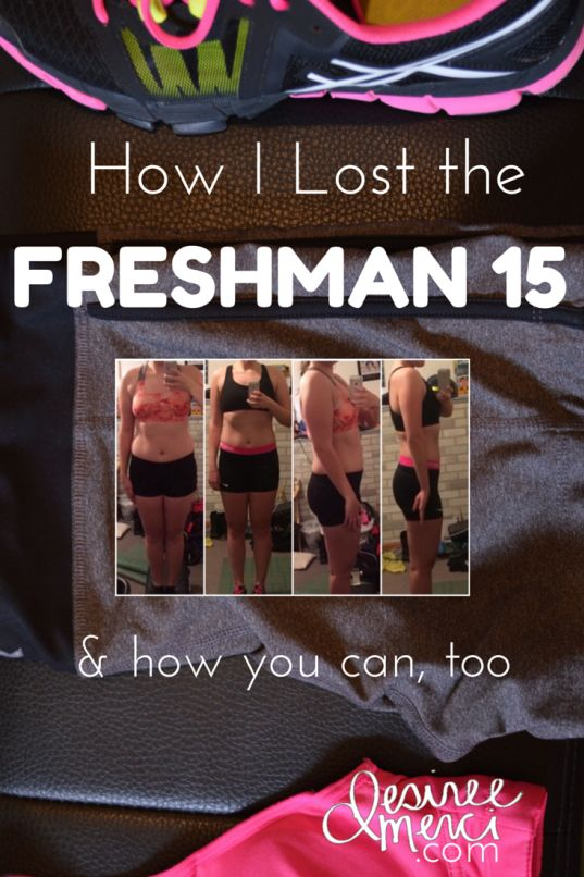 How I Lost the Freshman 15 in 3 months.  (& how you can, too) desireemerci.com