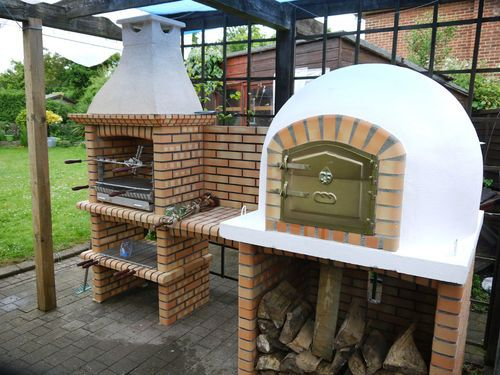 Outdoor Brick Barbecue - garden-cooking-food bbq ***AMIGO OVENS*** | eBay