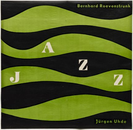 """Jazz"" (c.1950) cover art by German artist Otl Aichr (1922–1991)"