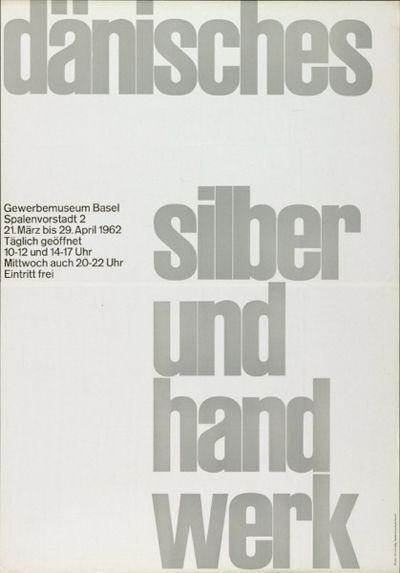 Posters by Emil Ruder