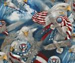 Robert Kaufman Election Day Patriotic Eagle America