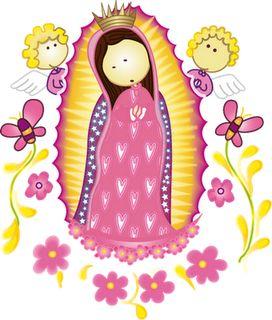 Imagen de bautizo para imprimir y otras imágenes de vírgenes y ángeles