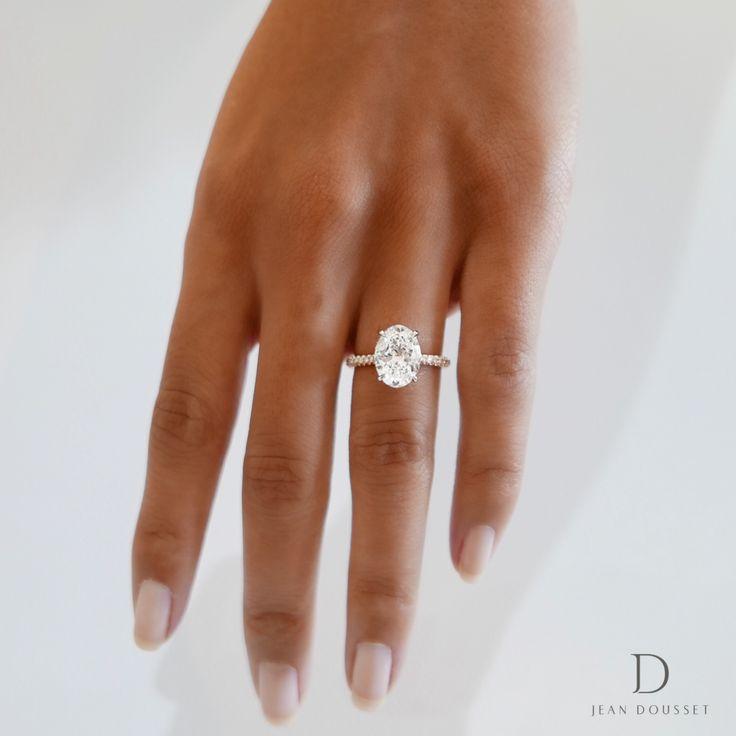 Best 25+ Oval wedding rings ideas on Pinterest | Oval ...