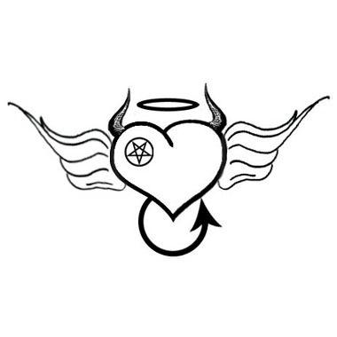 tatouage modele mi ange mi demon femme - Recherche Google