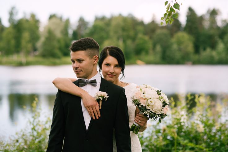 summer wedding in finland, kesähäät