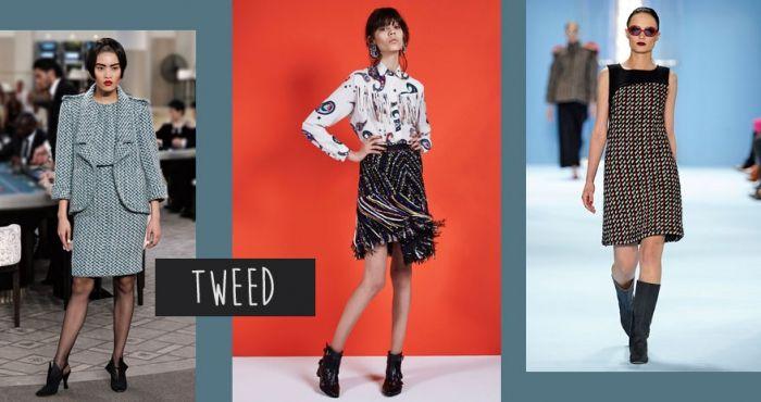 Modetrends Herbst 2015: Tweed