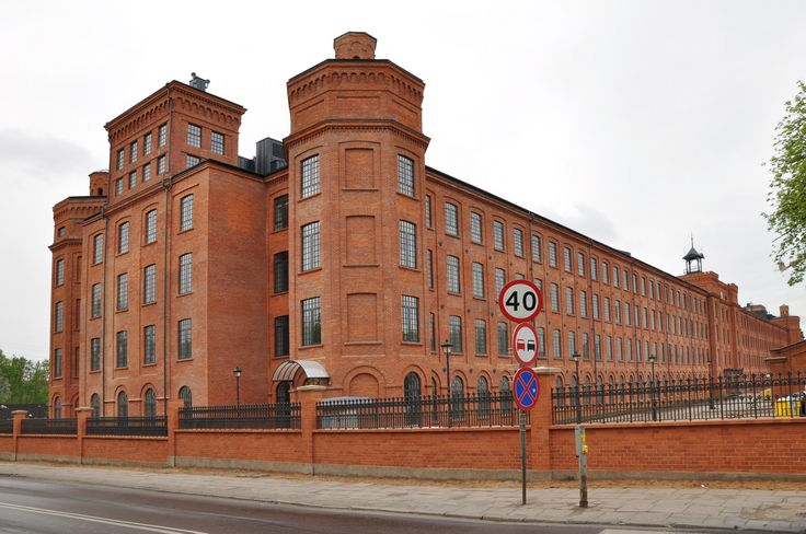 Poland, Lodz, Scheibler factory