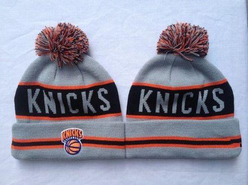 5faf7e392 New York Knicks Winter Outdoor Sports Warm Knit Beanie Hat Pom Pom ...
