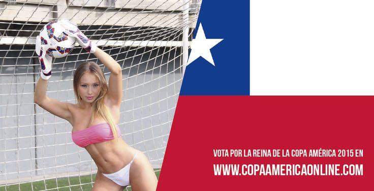 Candidata a Reina de la Copa América 2015, representando a Chile Daniella Chavez a Votar por tu favorita #ReinaCopaAmerica2015 http://ow.ly/Ojdjq