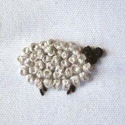 How to embroider French Knot Sheep More