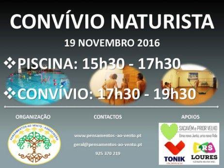 Convívio Naturista Novembro 2016 - Associação Pensamentos ao Vento