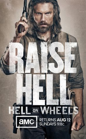Hell On Wheels. Such a good show! And Cullen Bohanan is the dirtiest sexiest man ever.