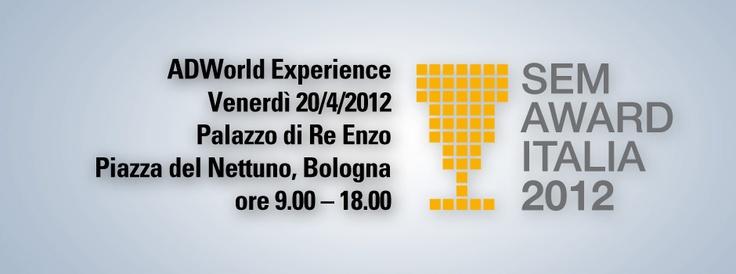 """I casi di successo dei migliori inserzionisti Adwords italiani in un'unica giornata di laboratorio """"sul campo"""" a Bologna il 20 Aprile 2012"""