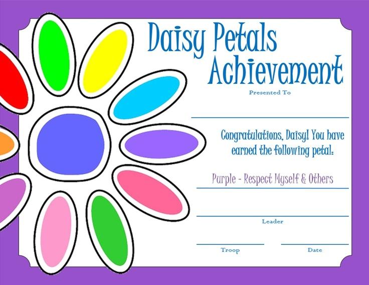39 best images about Daisy Girl Scout Purple Petal ...
