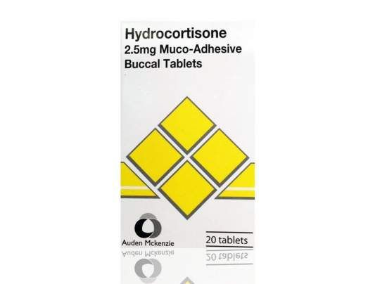 Hydrocortisone Buccal 2.5mg Tablets help to reduce swelling and inflammation in the mouth as well as to treat mouth ulcers.