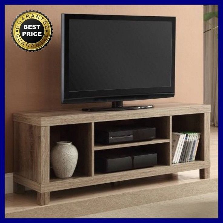 42 Inch TV Stand Wood Entertainment Center Home Theater Media Storage Console  #Generic
