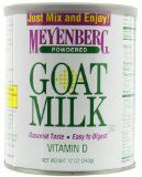 If I ever have the need to supplement for my babies, I'll use donated breastmilk or make this Homemade Goat's Milk Formula made from Meyenberg powdered goat's milk.