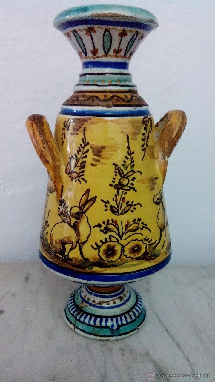 Antigua Botella De Triana Coleccion Ceramica Y Porcelana