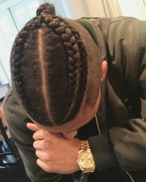 Braided Hairstyles For Black Man Impressive 38 Best Braids Images On Pinterest  Hair Dos Mens Braids And