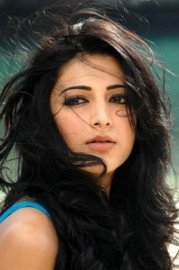 Shruthi Hassan in blue dress