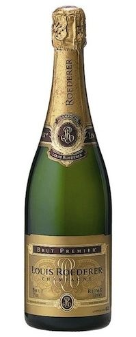 Louis Roederer brut premier champagne - in die swembad by Maia op Seychelles...