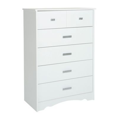 South S Tiara 5 Drawer Chest In