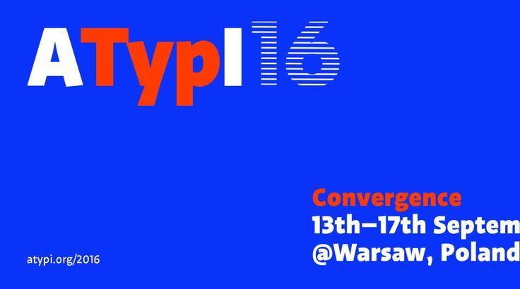 En lo más fffres.co: ATypI 2016, el evento tipográfico del año, recala en Varsovia: La ATypI, organismo internacional dedicado a… #Eventos