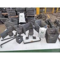 O ferro u dobrado é fornecido pela Udiaço, empresa de muito destaque no segmento de construção civil.