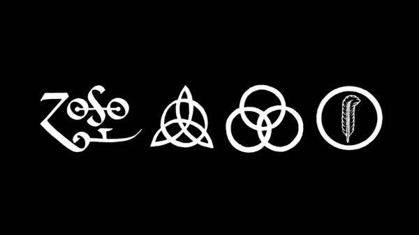 Led Zeppelin's fourth album and its accompanying quartet of alchemical symbols Devil Music: A History of the Occult in Rock & Roll — Cuepoint — Medium
