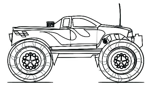 Monster Truck Coloring Pages Cars Coloring Pages Truck Coloring