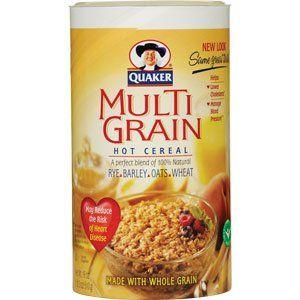 Quaker Multi-grain Hot Cereal 18 Oz.: Amazon.com: Grocery & Gourmet Food