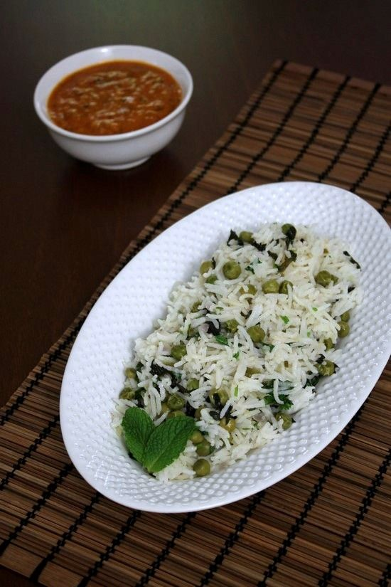 mild flavored pulao recipe. Goes perfect with any raita or any dal recipe.