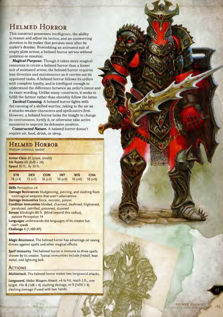 Dungeons And Dragons Rules, Dnd Monsters
