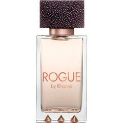 """Rogue perfume is an Oriental-floral fragrance for women, the fourth, by Rihanna. """"People are always changing and evolving, and with Rogue I wanted to switch it up, to reflect who I am today,"""" Rihanna stated related to this fragrance. This scent is flirtatious and sensual, and created to meet the desires of every mood a woman may have."""