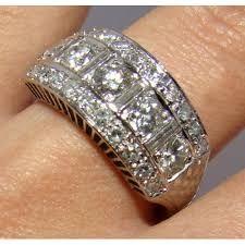 Resultado de imagen para anillo brillantes moderno