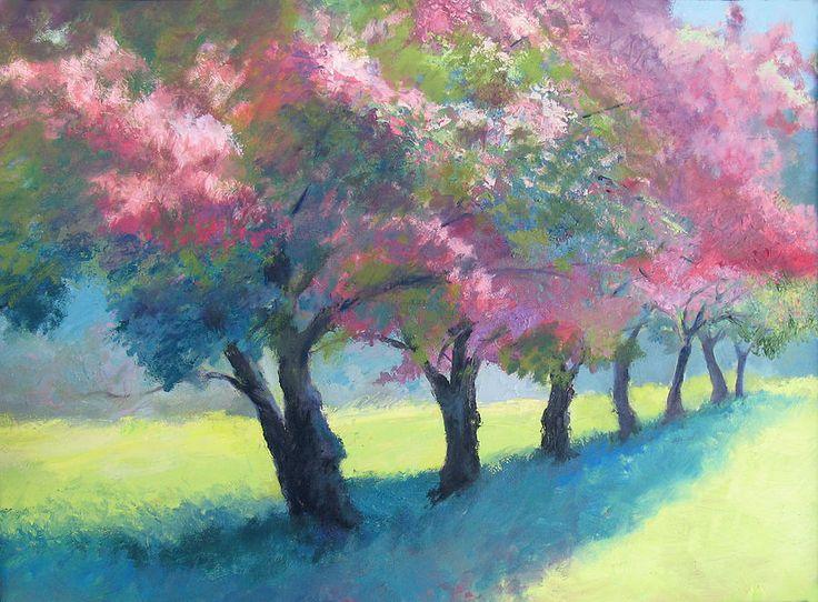 Simple Garden Ideas >> more apple blossoms... | Charlotte's Web | Pinterest | Fine art, Art and Apple blossoms